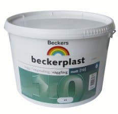 Beckerplast vægmaling