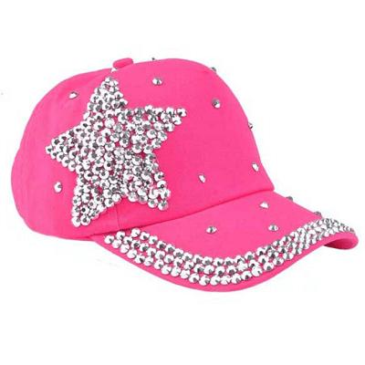 Pink pige Cap