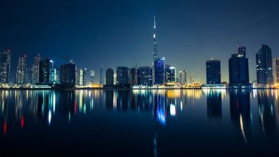 Dubai by night